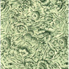 פרחי הדפסה ירוקים