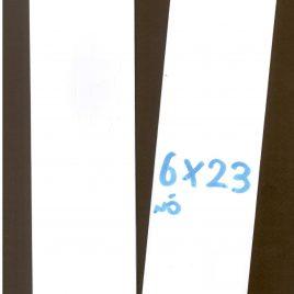 """מארז 25 מעטפות -מעטפה  מלבנית צרה 6X23 ס""""מ, נייר לבן איכותי"""