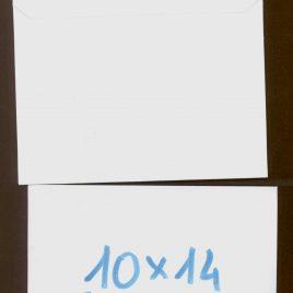 """מארז 16 מעטפות בסגנון רטרו- גודל 10X14 ס""""מ נייר לבן 120 גרם"""