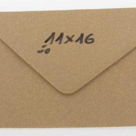 מעטפה קראפט חום בהיר 11X16