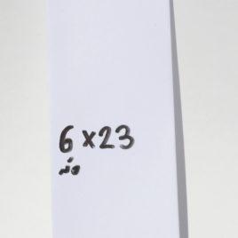 מעטפה מלבנית צרה 6X23