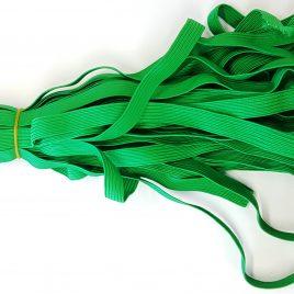 """גומי שטוח- גוון ירוק דשא, רוחב 10 מ""""מ, איכותי למחברות יומנים אוגדנים ספרים ועוד…"""