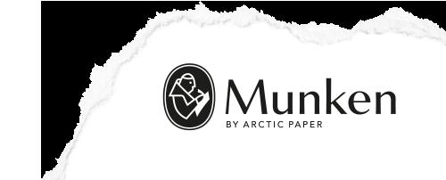 "MUNKEN PAPER סדרת POLAR גוון לבן משקל 400 גרם גודל 33X48 ס""מ 12 יחידות במארז"