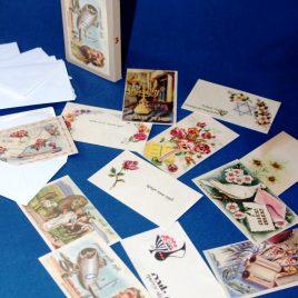 מארז כרטיסי ברכה שונים בסגנון רטרו דגם 3