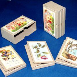 מארז כרטיסי ברכה בסגנון רטרו המכיל 3 דגמים
